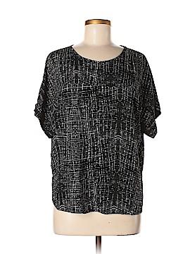 Lumiere Short Sleeve Blouse Size M