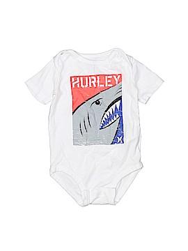 Hurley Short Sleeve Onesie Size 3-6 mo