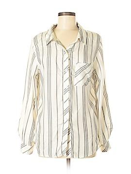 Elan Long Sleeve Button-Down Shirt Size M