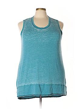 Melissa McCarthy Seven7 Sleeveless T-Shirt Size 2X (Plus)