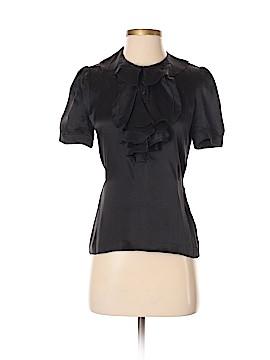 HUGO by HUGO BOSS Short Sleeve Silk Top Size 4