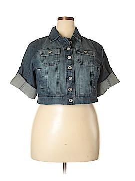 Highway Jeans Denim Jacket Size 1X (Plus)