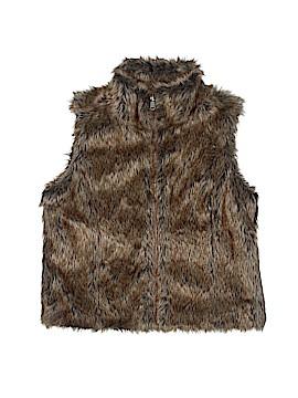 Justice Faux Fur Vest Size 8/10
