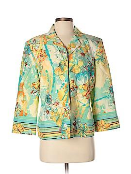 Nancy Bolen City Girl Silk Blazer Size M