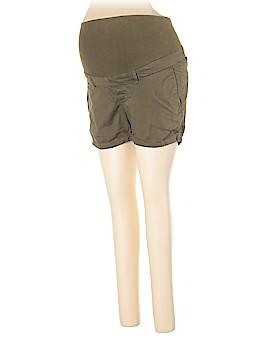 H&M Mama Khaki Shorts Size 10 (Maternity)