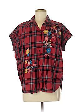 Madewell Short Sleeve Button-Down Shirt Size M