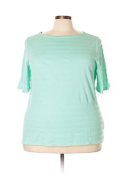 Charter Club Active T-Shirt Size 3X (Plus)
