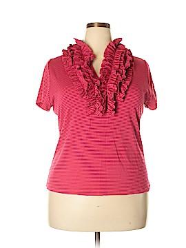 Soft Surroundings Short Sleeve Top Size 1X (Plus)