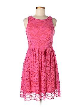 Ultra Pink Casual Dress Size M