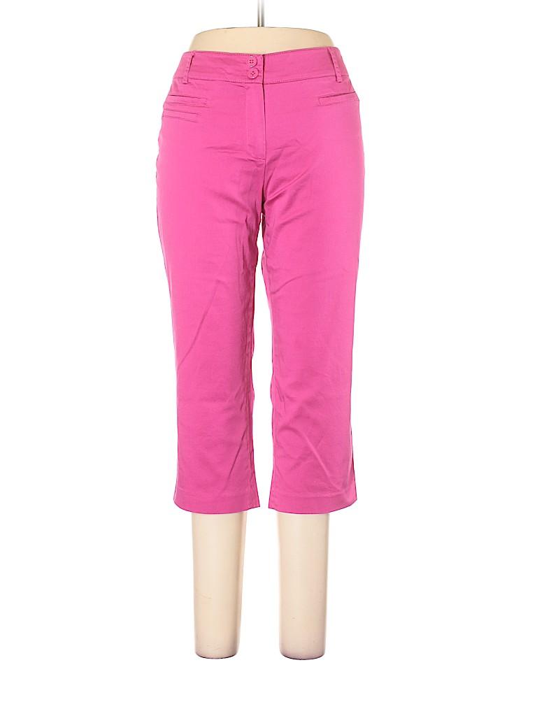 New Directions Women Khakis Size 12