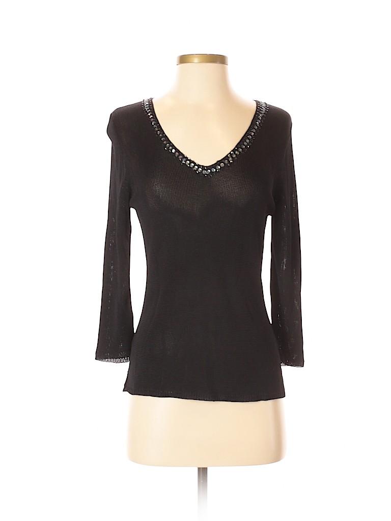 Sarah Arizona Women 3/4 Sleeve Top Size S