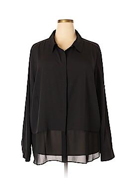 DKNYC Sleeveless Blouse Size 3 (Plus)