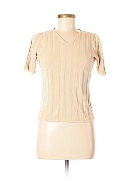 Jacqueline Ferrar Silk Pullover Sweater Size M