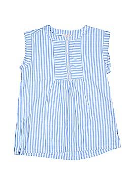 Cat & Jack Short Sleeve Blouse Size 10 - 12