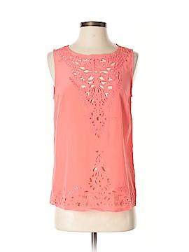 Cynthia Rowley TJX Sleeveless Silk Top Size XS