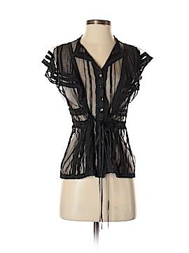Yoana Baraschi Short Sleeve Blouse Size S