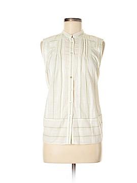 Free World Sleeveless Button-Down Shirt Size XS