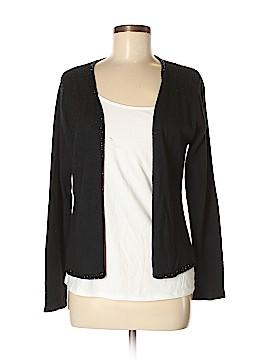 SILK CLUB COLLECTION Silk Cardigan Size M