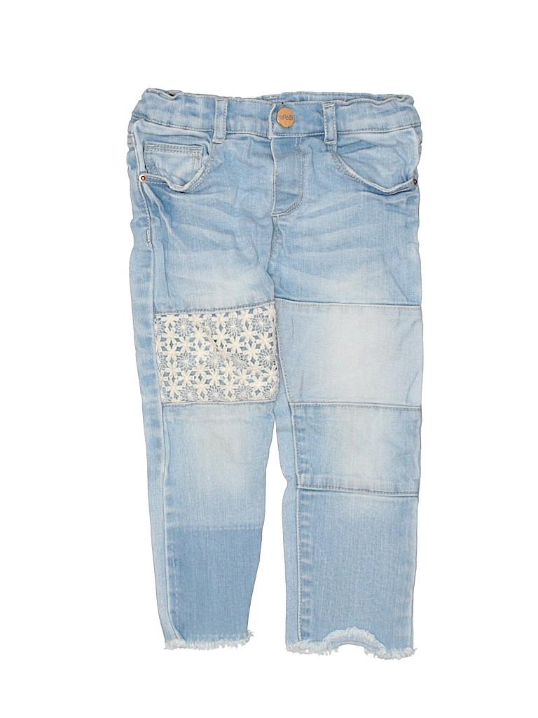 Zara Baby Lace Light Blue Jeans Size 2T - 63% off  965c172c4c1