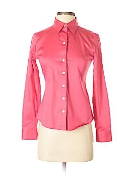 Banana Republic Long Sleeve Button-Down Shirt Size 2 (Petite)
