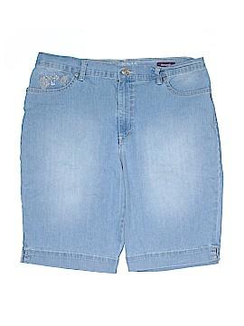 Gloria Vanderbilt Denim Shorts Size 14