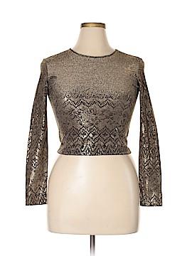 Bazar Christian Lacroix Long Sleeve Blouse Size XL