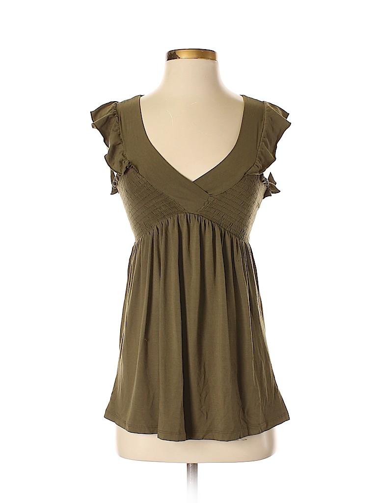 Ella Moss Women Short Sleeve Top Size XS