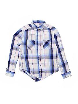 Mudd Long Sleeve Button-Down Shirt Size 7