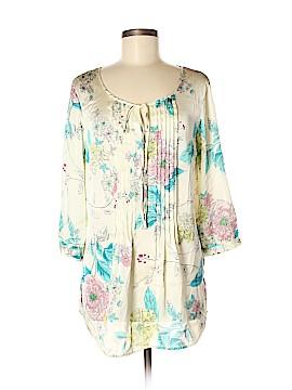 Avon 3/4 Sleeve Blouse Size M