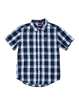 Wrangler Jeans Co Short Sleeve Button-Down Shirt Size 18
