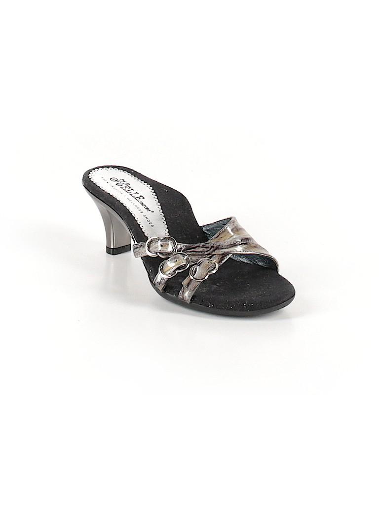 27ff39a10b8a Helle Comfort Metallic Black Mule Clog Size 38 (EU) - 97% off