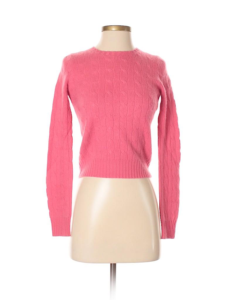 Ralph Lauren Black Label Women Cashmere Pullover Sweater Size S