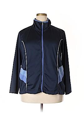 Three Hearts Track Jacket Size 1X (Plus)
