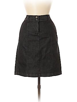 Talbots Denim Skirt Size 6 (Petite)