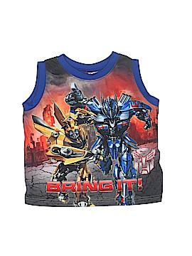 Transformers Sleeveless T-Shirt Size 4 - 5