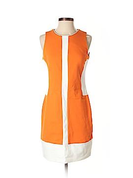 Pink Tartan Casual Dress Size S (Petite)