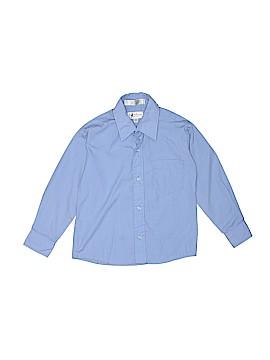 Van Heusen Long Sleeve Button-Down Shirt Size 6