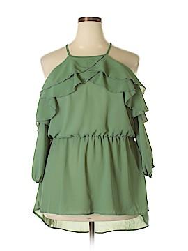 Fashion Nova 3/4 Sleeve Blouse Size 3X (Plus)