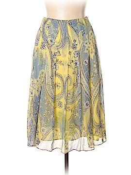 AK Anne Klein Silk Skirt Size 10