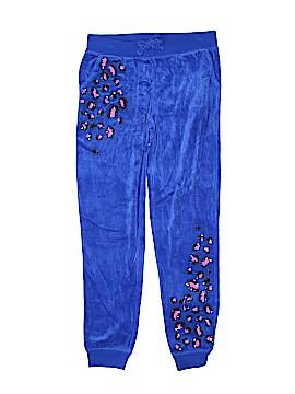 Justice Velour Pants Size 10