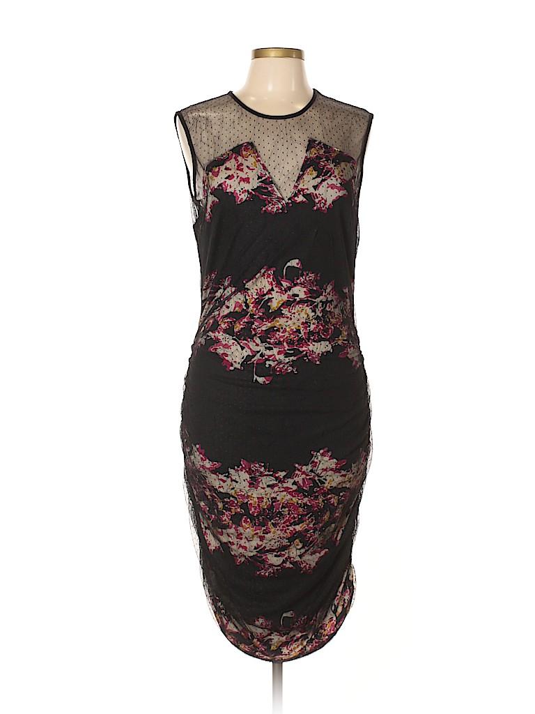 Julienne W. Women Casual Dress Size L