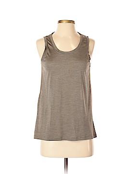 Hi-Line Sleeveless Silk Top Size XS