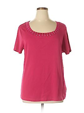 DressBarn Short Sleeve T-Shirt Size 2X (Plus)