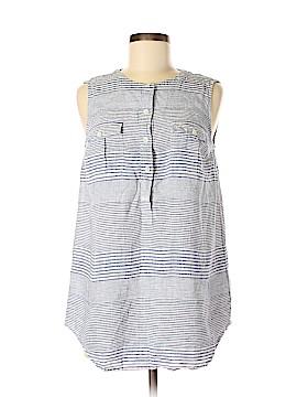 Vineyard Vines Sleeveless Button-Down Shirt Size 8