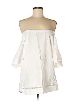Lauren by Ralph Lauren Short Sleeve Blouse Size M