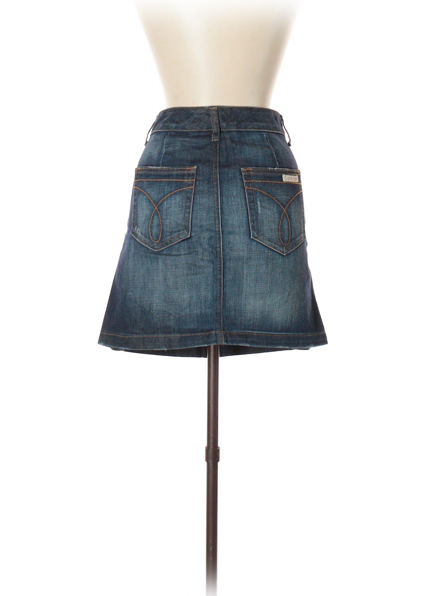 Denim Boutique Calvin Klein Boutique Skirt Calvin qB8zvwTO