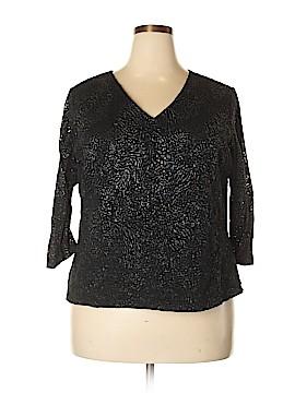 Laura Ashley Long Sleeve Blouse Size 2X (Plus)