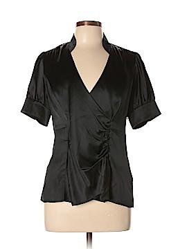 Banana Republic Short Sleeve Silk Top Size 12