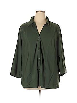DressBarn 3/4 Sleeve Blouse Size 22 - 24 (Plus)