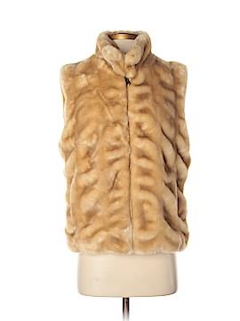Brooks Brothers Faux Fur Jacket Size Sm - Med